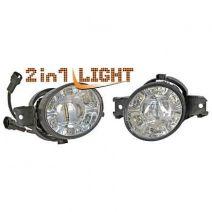 Mistlampen LED dagrijverlichting | diverse Renault / Nissan en Opel modellen | Bi-Light / 2 in 1 light