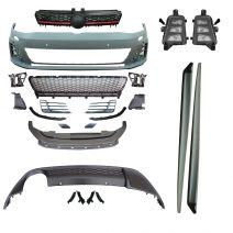 Bodykit | GTI - Look | Volkswagen Golf 7 | Voorbumper, diffusor, side skirts en accessoires | ABS Kunststof