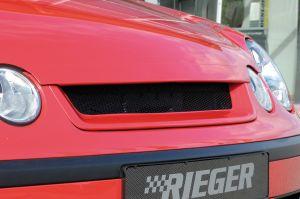 Rieger motorkapverlenger | Polo 5 (9N): 10.01-03 - 5-drs., 3-drs. | stuk ongespoten abs | Rieger Tuning