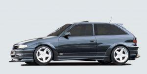Spatbordverbreder | Opel Astra F Hatchback 1991-1998 | stuk ongespoten gvk | Rieger Tuning
