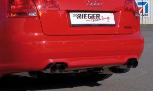 Diffuser | Audi A4 sedan / Avant (8E) B7 | stuk abs | Rieger Tuning