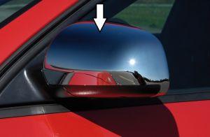Spiegelkappen chroom Audi A3 | Voor voertuigen met grote buitenspiegel rechts 175x100mm,  passend voor:   Audi A3 2-trg. Mod. 03 ->  Audi A4 Limo. Mod. 01 ->  Audi A4 Avant Mod. 02 ->  Audi A4 Cabrio Mod. 03 -> | set abs | Rieger Tuning