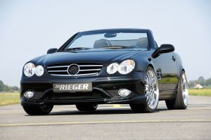 Rieger bodykit SL-Look | SLK-Klasse R170: 00.97-12.00, 01.01- - Roadster | stuk ongespoten gvk | Rieger Tuning