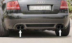 RIEGER einddemper li./re. Typ 14, Audi A4 (8H) Cabrio | A4 (8H): 04.02- - Cabrio | stk  | Rieger Tuning