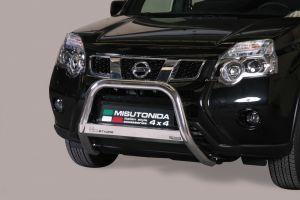 Pushbar / Bullbar | Nissan X-Trail 2011-2014 | CE-keur | RVS