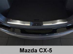 Laadruimtebeschermer | Mazda CX-5 2012- | 2-delig | profiled | RVS