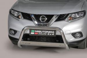 Pushbar / Bullbar | Nissan X-Trail 2015- | CE-keur | RVS