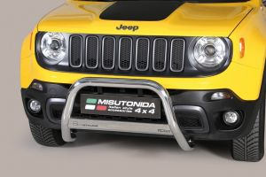 Pushbar / Bullbar | Jeep Renegade Trailhawk | 2014- | medium bar | CE-keur
