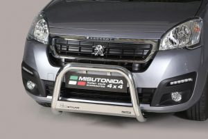 Pushbar / Bullbar | Peugeot Partner | 2016- | medium bar | CE-keur