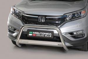 Pushbar / Bullbar | Honda CR-V 2016- | CE-keur | RVS