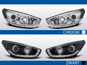 Koplampen Angel Eyes / Tube Light   Hyundai IX35 2009-2013