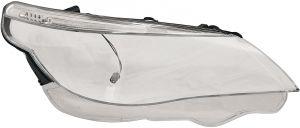 Koplampglas Rechts | Vervang glas | BMW 5-serie E60 E61 2003-2007 | Xenon en Halogeen koplampen