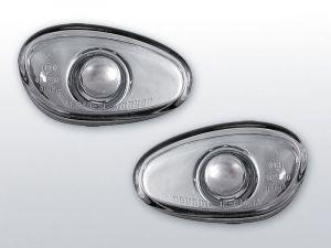 zijknipperlichten voor alfa romeo 145 146 in chroom