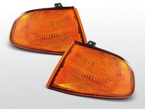 voorknipperlichten set voor honda civic in oranje