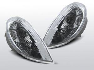 voorknipperlichten set voor mercedes slk r170 in chroom
