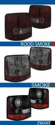 achterlichten land rover range rover sport rood/smoke, smoke of zwart