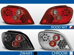 achterlichten peugeot 307 rood/wit, chroom of zwart