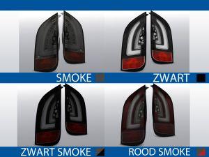 achterlichten volkswagen up! smoke, zwart, zwart/smoke of rood/smoke