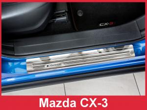 Instaplijsten | Mazda CX-3 2015- | Exclusive | 4-delig