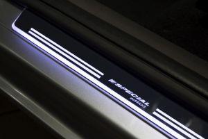 instaplijsten van Avisa met LED, rood of wit verlicht