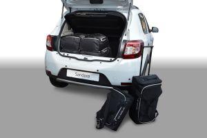 Travel Bags | Autospecifieke auto reistassen set Dacia Sandero 2012- Car-Bags