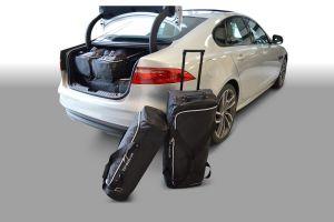 Travel Bags | Autospecifieke auto reistassen set Jaguar XF suv 2015- Car-Bags