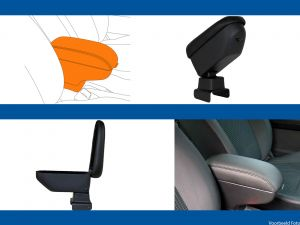 Armsteun Smart Fortwo/City/Coupe/cabrio 1998-2007