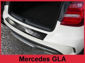 Avisa achterbumper beschermer zwart mercedes GLA klasse vanaf 2013