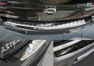 Avisa achterbumper beschermer Opel Astra V Hatchback in rvs chroom of zwart