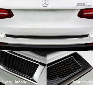 Mercedes_glc_Achterbumperbescherming_zwart_chroom_carbon_