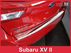 Achterbumperbeschermer | Subaru | XV 17- 5d suv. | RVS