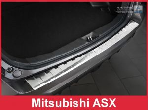 Achterbumperbeschermer | Mitsubishi | ASX 18- 5d suv. | RVS