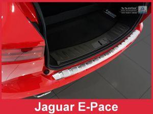 Achterbumperbeschermer   Jaguar   E-Pace 17- 5d suv.   RVS