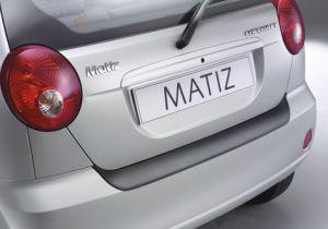 Achterbumper Beschermer | Chevrolet Matiz 5-deurs 1998-2010 | ABS Kunststof