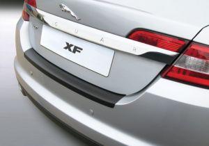 Achterbumper Beschermer   Jaguar XF 2007-   ABS Kunststof