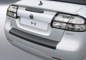 Achterbumper Beschermer | Saab 9-3 Cabrio 2007- | ABS Kunststof