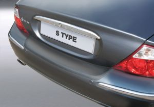 Achterbumper Beschermer   Jaguar S-Type 1999-2004   ABS Kunststof