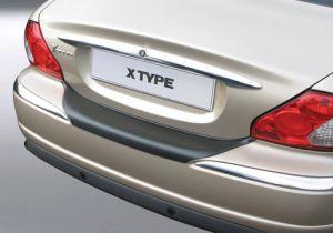 Achterbumper Beschermer   Jaguar X-Type 2001-2008   ABS Kunststof