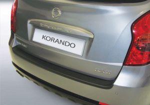 Achterbumper Beschermer | SsangYong Korando 2011- | ABS Kunststof