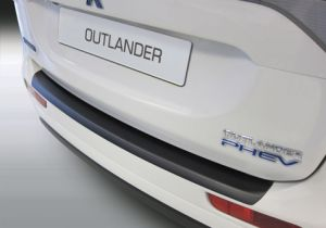 Achterbumper Beschermer | Mitsubishi Outlander 2012-2015 | ABS Kunststof