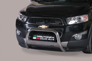 Pushbar / Bullbar   Chevrolet Captiva 2011-   CE-keur   RVS