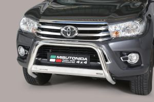 Pushbar | Toyota Hilux D.C. 2016- | CE-keur | RVS