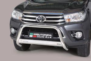 Pushbar   Toyota Hilux 2016-   RVS   CE-keur