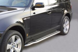 Side Bars | BMW | X3 04-06 5d suv. E83 | RVS