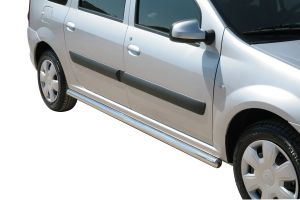 Side Bars | Dacia | Dacia | Logan MCV 08-13 5d sta. / Logan MCV 13-16 5d sta. | RVS