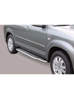 Side Bars | Honda | CR-V 04-07 5d suv. | RVS
