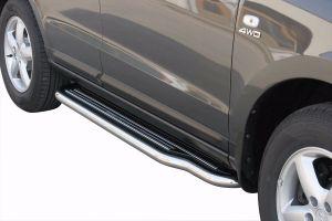 Side Bars   Hyundai   Santa Fe 06-10 5d suv.   RVS