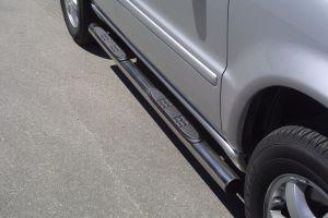 Side bars Mercedes ML 270/400 2002-2005  steps