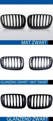 nieren bmw x5 e70 e71 mat/zwart, mat/zwart-glanzend/zwart of glanzend zwart