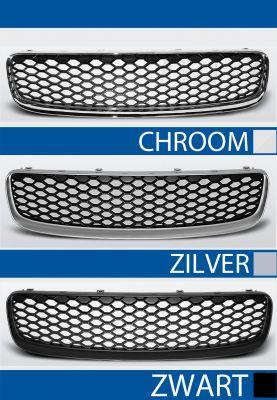 grille set audi tt 8n abs kunststof chroom, zilver of zwart